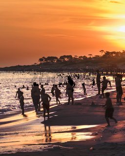 Parque del Plata Beach, Canelones, Uruguay