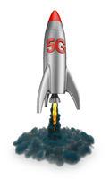 5G rocket flies up