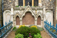 Memorial to Benjamin Disraeli in Hughenden, Buckinghamshire