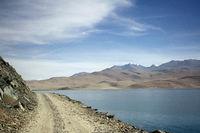 Road to Pangong lake, Ladakh, Jammu and Kashmir, India.