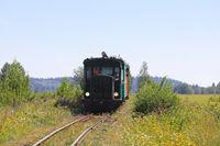 Vintage Diesel Locomotive Summer Travel