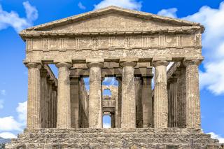 Concordia Tempel im Tal der Tempel nahe Agrigent in Sizilien