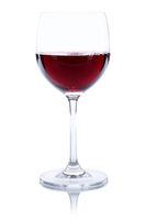 Wein Glas Weinglas Rotwein freigestellt Freisteller