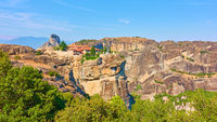 Meteora and The Monastery of the Holy Trinity