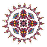 Hungarian folk motif 5
