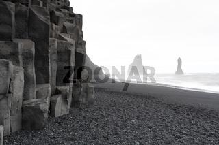 Strand von Vik - Island