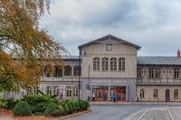 Bahnhof Thale mit Touristinformation und Obscurum