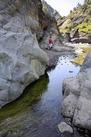 Wanderung durch den Barranco de Las Angustias