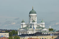 Cathedral of the Diocese of Helsinki, finnish Evangelical Lutheran church, located in the neighborhood of Kruununhaka in Helsinki, Finland