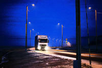 Trucking at Night