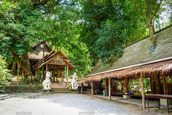 Wat Palad temple buildings, Chiang Mai, Thailand