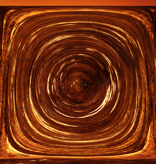 Three-Dimensional Abstraction. An existential vortex