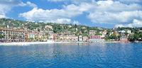 Santa Margherita Ligure an der italienischen Riviera,Ligurien,Italien