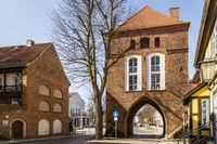Kniepertor, Stralsund, Deutschland, Germany