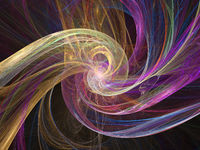 Abstract fractal flame fractal background