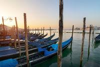 Gondolas and San Giorgio