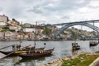 Porto on the Douro shore, Portugal