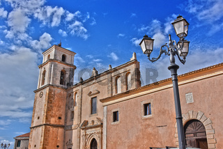 Architecture of Santa Severina in the Province of Croton