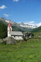 Heilig-Geist-Kirchlein in Prettau, Tauferer Ahrntal, Südtirol