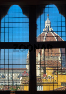 Duomo from the Palazzo Vecchio - Florence