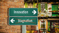 Street Sign Innovation versus Stagnation
