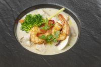 Tom Kha Gai Suppe aus Thailand