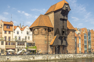 Old Wooden Port Crane, Gdansk, Poland