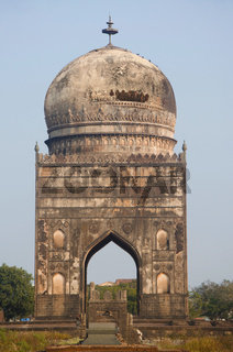 Tomb of Ali Barid Shah, Bidar, Karnataka state of India