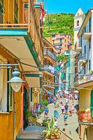 Old street in Riomaggiore