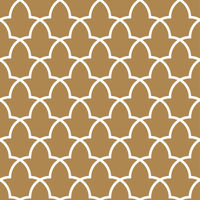 Seamless arabic geometric ornament.Brown color background.Moroccan pattern.