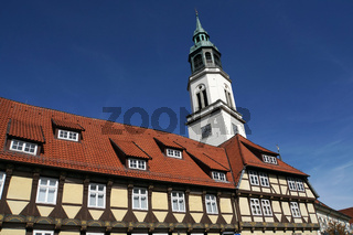 barocke evangelische Stadtkirche St. Marien und Bomann-Museum