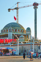 Construction of new mosque onTaksim Square