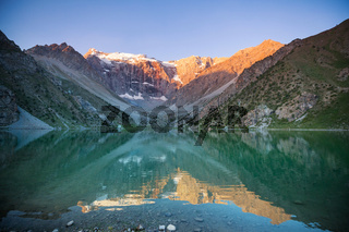 Fann mountains lake