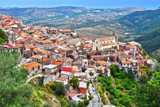 The village of Staiti in the Province of Reggio Calabria
