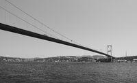 FSM Bridge over Bosporus in Istanbul