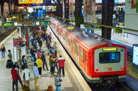 Hamburg Central Railway station Germany