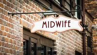 Street Sign to Midwife