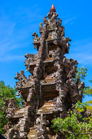 Temple in Monkey Forest - Bali Island Indonesia