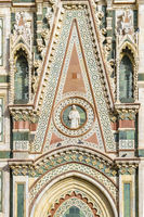 Santa Maria del Fiore Cathedral Detail View