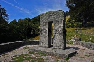 Engländerdenkmal am Schauinsland im Schwarzwald, Süddeutschland