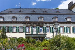 Haus Die Rose von der Rheinseite in Eltville am Rhein