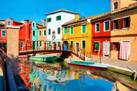 Summer on Burano island