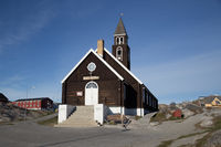 Zion's Church in Ilulissat, Greenland