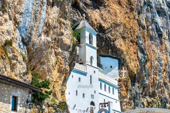 Ostrog Monastery in Montenegro