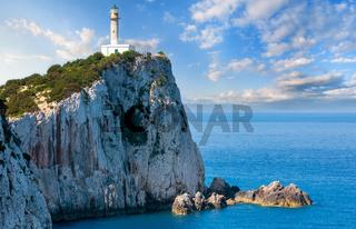 South cape of Lefkas island, Greece