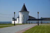 Orlovskaya tower of Tobolsk Kremlin. Tobolsk. Tyumen Oblast. Russia