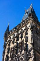 tower building. Powder tower in Prague