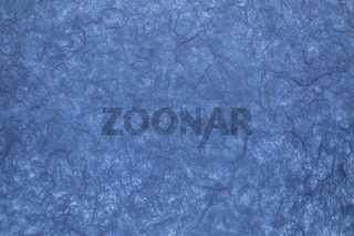 blue textured mulberry paper