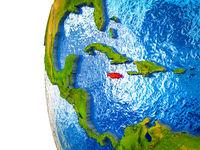 Jamaica on 3D Earth