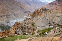 Dhankar Gompa Monastery in Himalayas